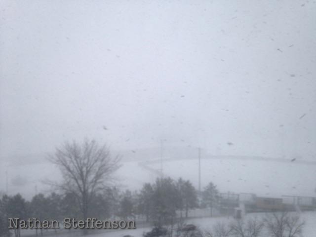 towards Brainerd High School not visible