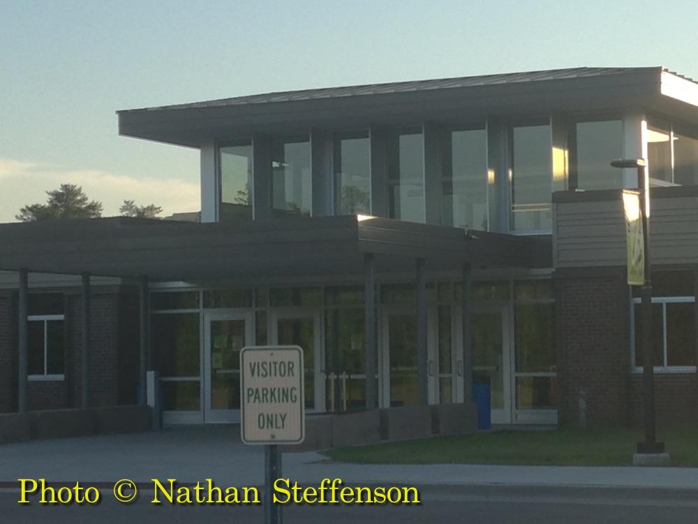 Front of Onamia High School